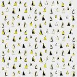 Het patroon van de driehoek Het kan voor prestaties van het ontwerpwerk noodzakelijk zijn Geometrische abstracte textuur stock afbeelding