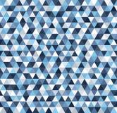 Het patroon van de driehoek Naadloze vector Stock Fotografie