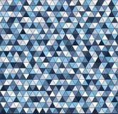 Het patroon van de driehoek Naadloze vector Stock Afbeelding
