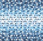Het patroon van de driehoek Naadloze vector Stock Afbeeldingen
