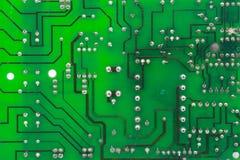 Het patroon van de elektronikadruk Stock Foto
