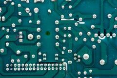 Het patroon van de elektronikadruk Royalty-vrije Stock Afbeeldingen