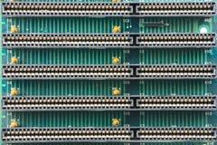 Het patroon van de elektronikadruk Stock Afbeeldingen