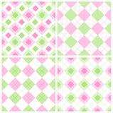 Het patroon van de gingang Stock Afbeelding