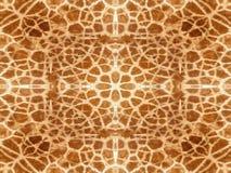 Het patroon van de girafhuid Royalty-vrije Stock Fotografie