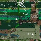 Het patroon van de Grungecamouflage Royalty-vrije Stock Afbeelding