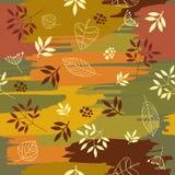 Het patroon van de herfst Stock Afbeelding