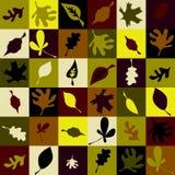 Het patroon van de herfst royalty-vrije illustratie