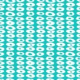 Het patroon van de Hipsterstijl met doughnut zoals vormen Royalty-vrije Stock Afbeelding