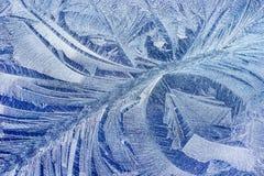 Het patroon van de Hoarvorst op auto Stock Afbeelding