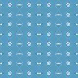 Het Patroon van de hond en van het Been Royalty-vrije Stock Fotografie