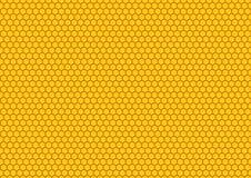Het patroon van de honing comp Royalty-vrije Stock Foto's