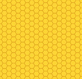 Het patroon van de honingraat Stock Fotografie