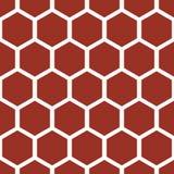 Het patroon van de honingraat Stock Afbeelding