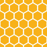 Het patroon van de honingraat Royalty-vrije Stock Afbeeldingen