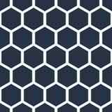Het patroon van de honingraat Royalty-vrije Stock Fotografie