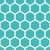 Het patroon van de honingraat Royalty-vrije Stock Foto