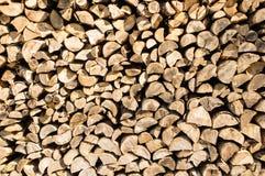 Het patroon van de houtstapel voor achtergrond Royalty-vrije Stock Afbeelding