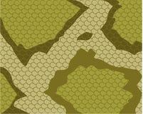 Het Patroon van de Huid van de slang Stock Afbeelding