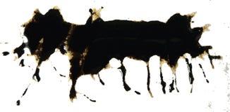 Het patroon van de inkt splat   royalty-vrije illustratie