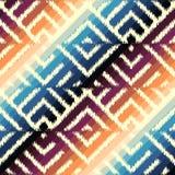 Het patroon van de inktstof Stock Foto's