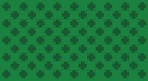 Het patroon van de klaver stock illustratie
