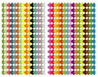 Het patroon van de kleur Stock Afbeelding