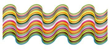 Het patroon van de kleur Stock Fotografie