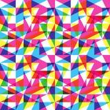 Het patroon van de kleurentendens Stock Afbeeldingen