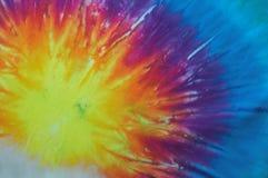Het patroon van de Kleurstof van Tye Stock Fotografie