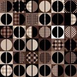 Het patroon van de koffie stock illustratie