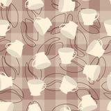 Het patroon van de koffie vector illustratie