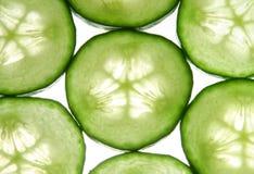 Het patroon van de komkommer stock afbeelding