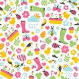 Het patroon van de lente Stock Afbeelding
