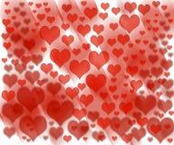 Het patroon van de liefdegolf Stock Foto