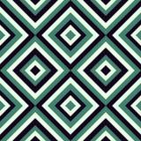 Het patroon van de manier in viridian kleur Royalty-vrije Stock Foto's