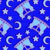 Het patroon van de nacht Royalty-vrije Stock Afbeeldingen