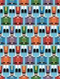 Het patroon van de notekraker Stock Foto's