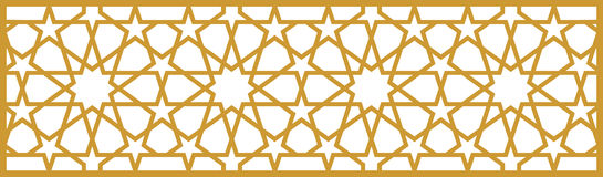 Het patroon van de ottomane royalty-vrije illustratie
