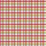 Het patroon van de plaid Stock Foto's