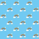 Het Patroon van de regenboog Stock Foto