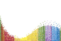 Het Patroon van de regenboog Royalty-vrije Stock Foto's