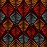 Het patroon van de ruitkleur Stock Fotografie