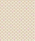 Het Patroon van de schaal in Roze Stock Foto's