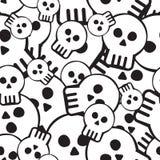 Het patroon van de schedel Royalty-vrije Stock Fotografie