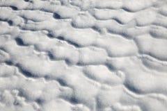Het patroon van de sneeuw stock foto