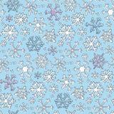 Het Patroon van de sneeuwvlok Stock Foto's