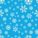 Het patroon van de sneeuwvlok Royalty-vrije Stock Afbeeldingen