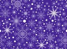 Het patroon van de sneeuwvlok Royalty-vrije Stock Fotografie