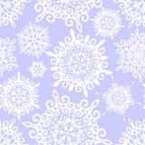 Het patroon van de sneeuwvlok stock illustratie